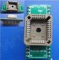 Adaptador Conversor PLCC32-adaptador DIP32 IC Xeltek socket para TL866 G540 TOP EasyPro/Superpro programador universal