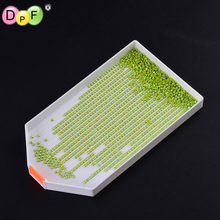 DPF Diamond Painting Tool Embroidery Accessories Large Capacity , Plastic Tray Big Kits