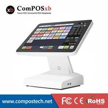 Precio bajo 15 Pulgadas TFT LCD Pantalla Terminal Punto De Venta Táctil Todo En Un Sistema Pos(China (Mainland))