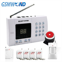 2019 New Selling High Quality Sales Promotion PSTN Telephone Alarm System Home Security Door Window PIR Sensor