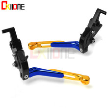 цена на Motorcycle Accessories CNC aluminum adjustable Motorcycle brake clutch levers For Honda CBR954RR CBR954 CBR 954 RR 2002-2003