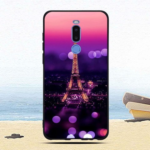 Case For Meizu Note 8 Colorful Patterned Soft TPU Silicone Ultra-thin Protective cases Back phone shell covers fundas coque capa Lahore
