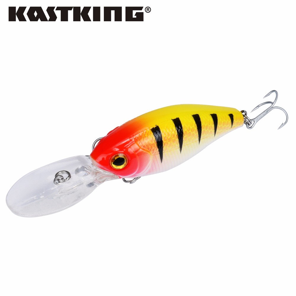 Kastking brand 2017 1pc fishing lure minnow hard bait with for Best fishing lures 2017