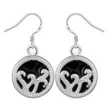 fashion jewelry Earring For Women, Silver Plated Earrings /SXNDJFZV SIMDMRSX