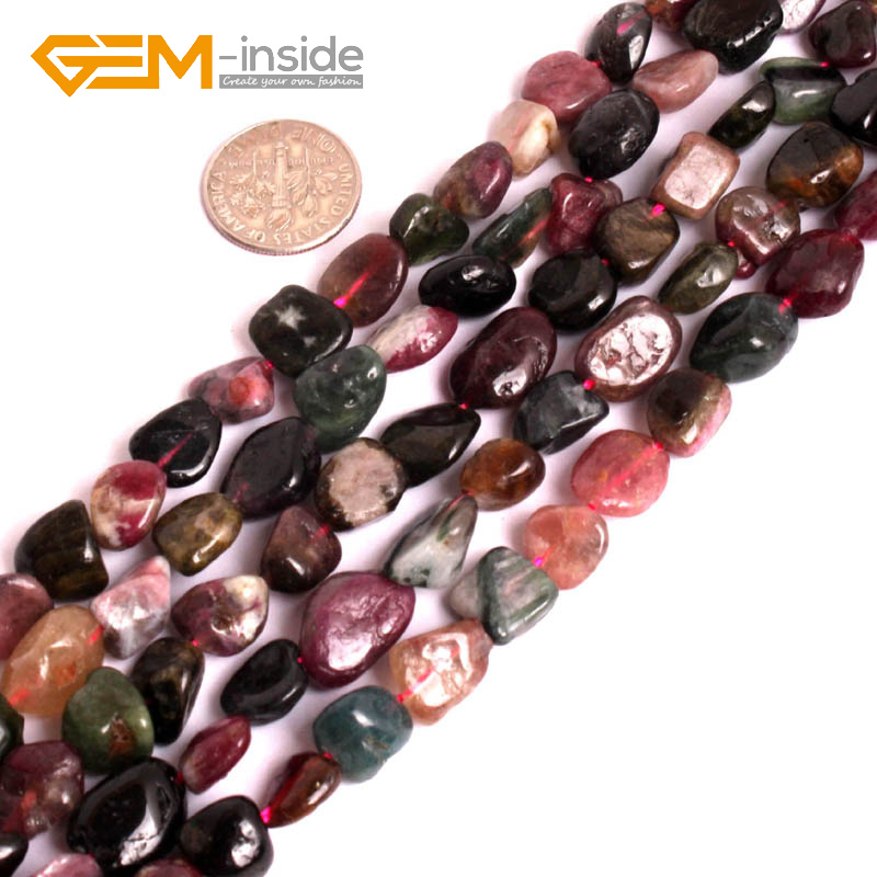 Gem-inside Natural Freeform Potato Baroque Natural Stone Beads For Jewelry Making Beads For Women 15inch DIY Beads Jewellery