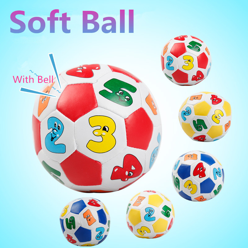 Toys Balls Sports Toddlers Boys : Soft ball baby toys for boys girls small football