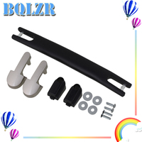 BQLZR 20cm Black Spare Strap Handle Grip Replacement For Suitcase Box Luggage