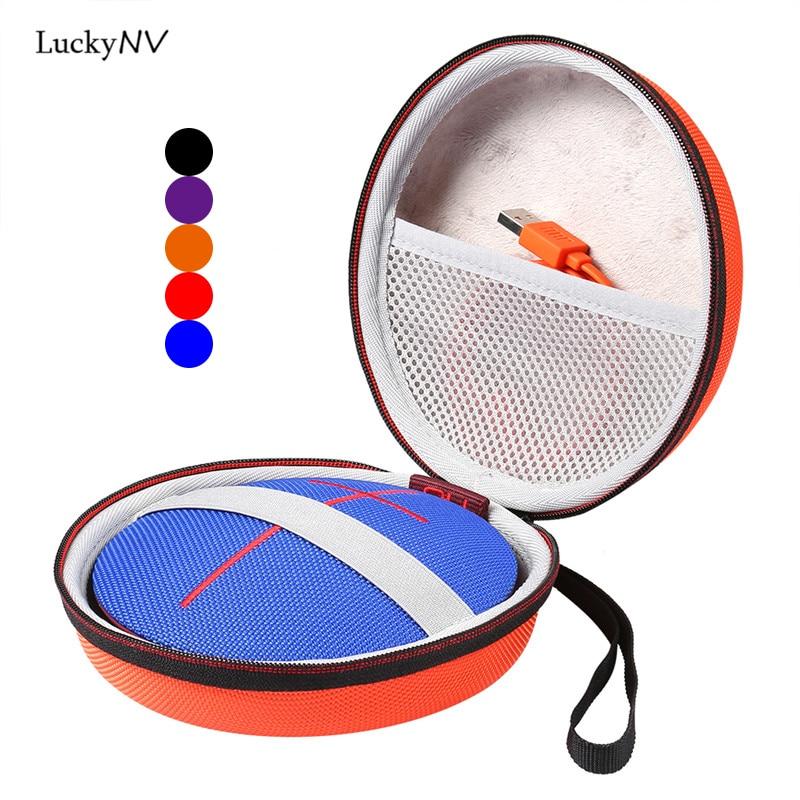 Tampa Do caso para Logitech UE ROLO 1 2 Falantes Sem Fio Bluetooth Caixa de Som Transporte Storage Bag Bolsa de Viagem Bolsa|Acessórios de caixas de som|Eletrônicos -