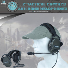 Element Z-tactical Softair Z039 Pilot Headset Comtac ZTCI Liberator II Neckband Sordin Thoradin Pickup Noise
