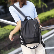 Litthing Retro Women Leather Backpack Casual College School Backbag Student Laptop Girls Back Pack Travel Drop shipping