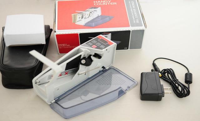 Portable Práctico Mini Bill Cash Money Contadora V40A EE. UU. Plug