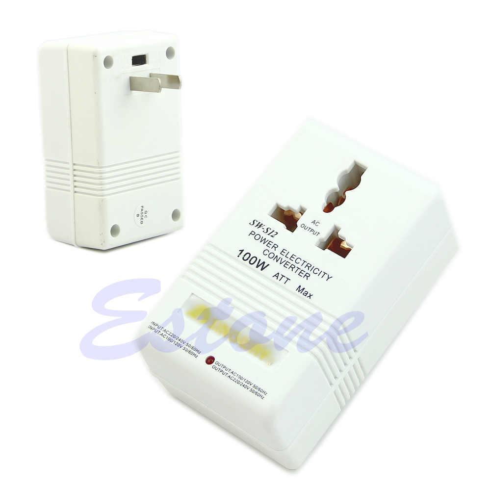 Profesjonalne moc konwerter napięcia 220/240V do 110/120V Adapter G08 świetna wartość 4 kwietnia