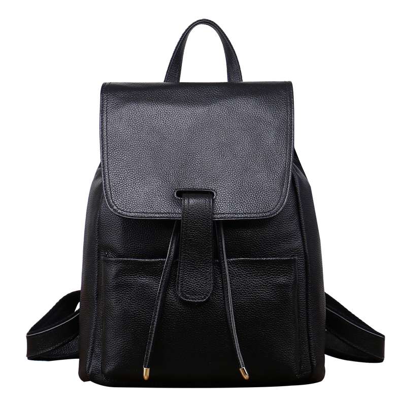 ФОТО Fashion Genuine Leather Women Shoulder Bags Europe And The United States Simple Fashion Trend Shoulder Bags