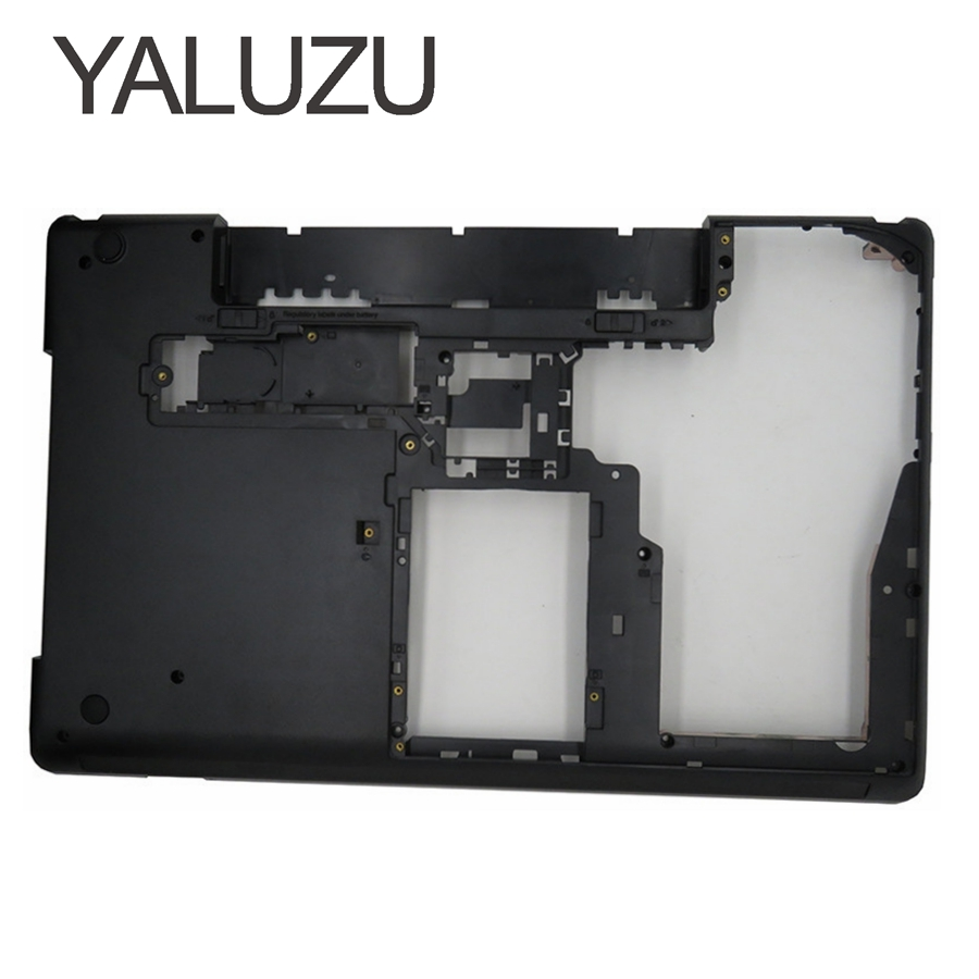 YALUZU New Bottom Base Cover for Lenovo for ThinkPad Edge E530 E535 E530C E545 Laptop lower Case Laptop AP0NV000L00 04W4110 15.6