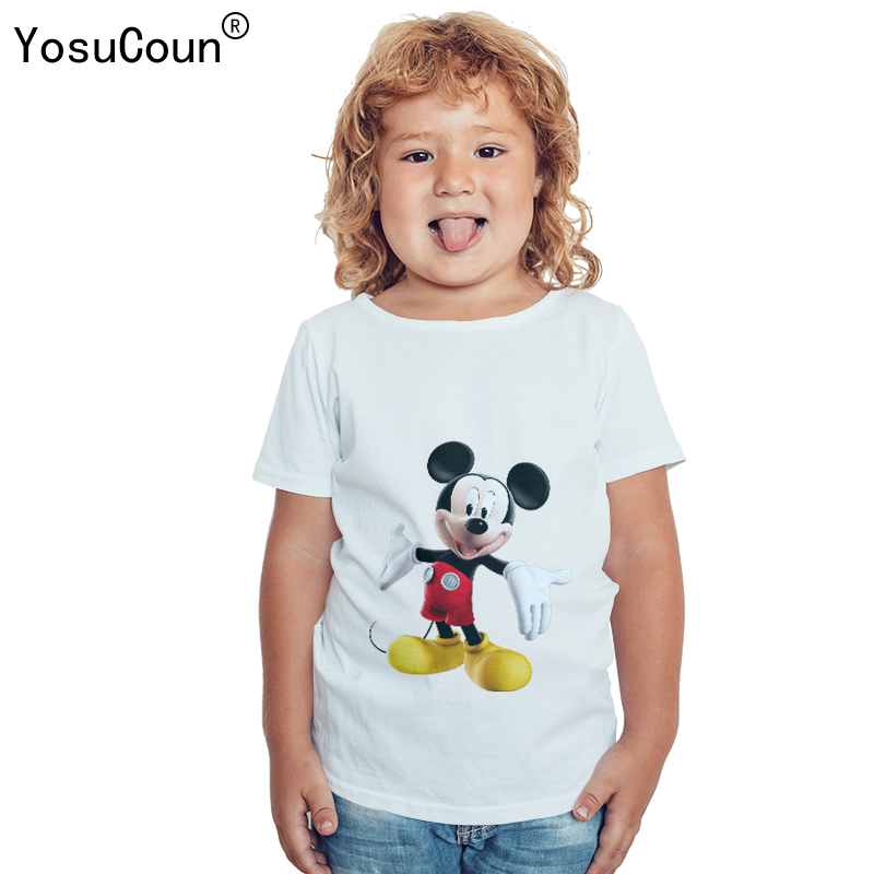 T-shirt Kids Girl Boys T shirt Girls Clothe Cotton Short-sleeved Shirt For Kid Boy Girls T-shirt Children Printing Clothes T000X