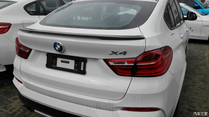X4 F26 Car Styling Carbon Fiber Rear Trunk Spoiler Wing For BMW F26 2014-2016 P Style