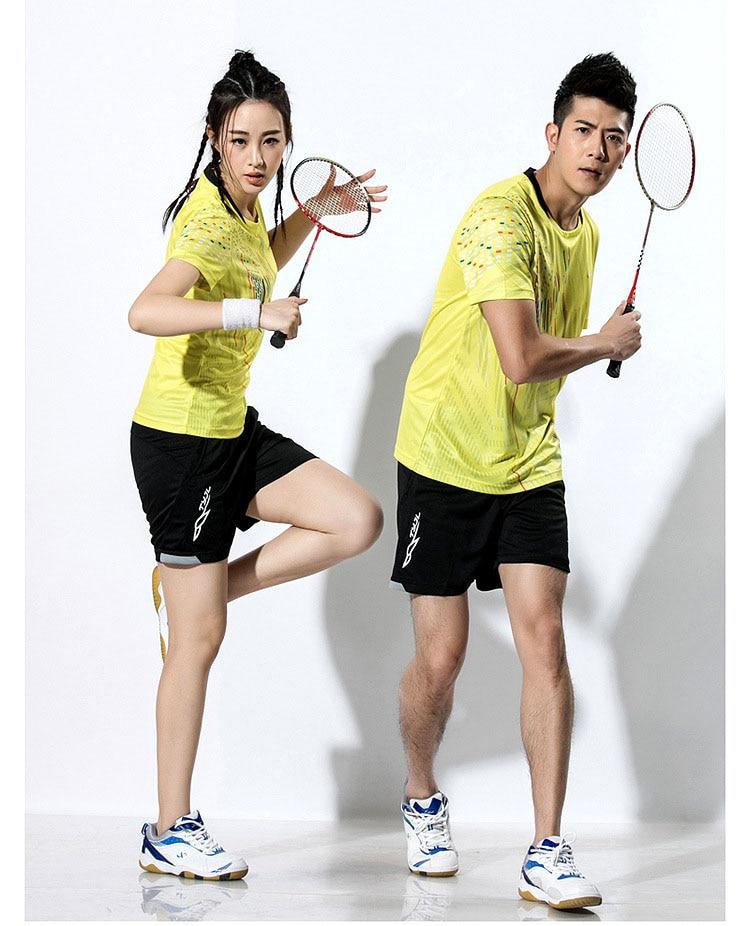 2018 New Badminton shirt , Tennis shirts Men / Women, Quick dry Tennis tshirts ,Table Tennis shirts , Ping Pong  sports shirt 4