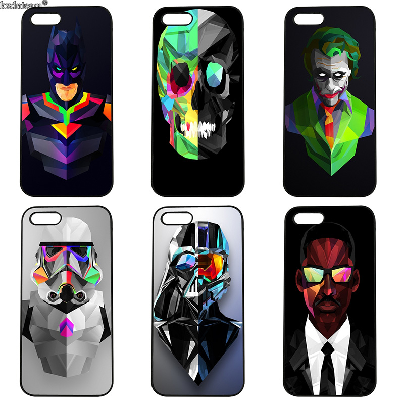 Fashion Facets Abstract Art Phone Case Hard Anti-knock Cover for iphone 8 7 6 6S Plus X 5S 5C 5 SE 4 4S iPod Touch 4 5 6 Shell