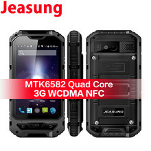 Wholesale Jeasung A8 3G Rugged Waterproof Smartphone 3000mAh Battery Quad Core MTK6580 Android 4 4 1