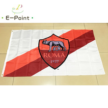 Italy Roma FC 3ft*5ft (90*150cm) Size Christmas Decorations for Home Flag Banner Type C Gifts