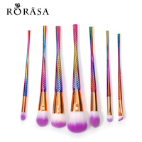8pcs professional foundation powder cream blush brush kits diamond shape makeup brush set blending powder thread.jpg 200x200