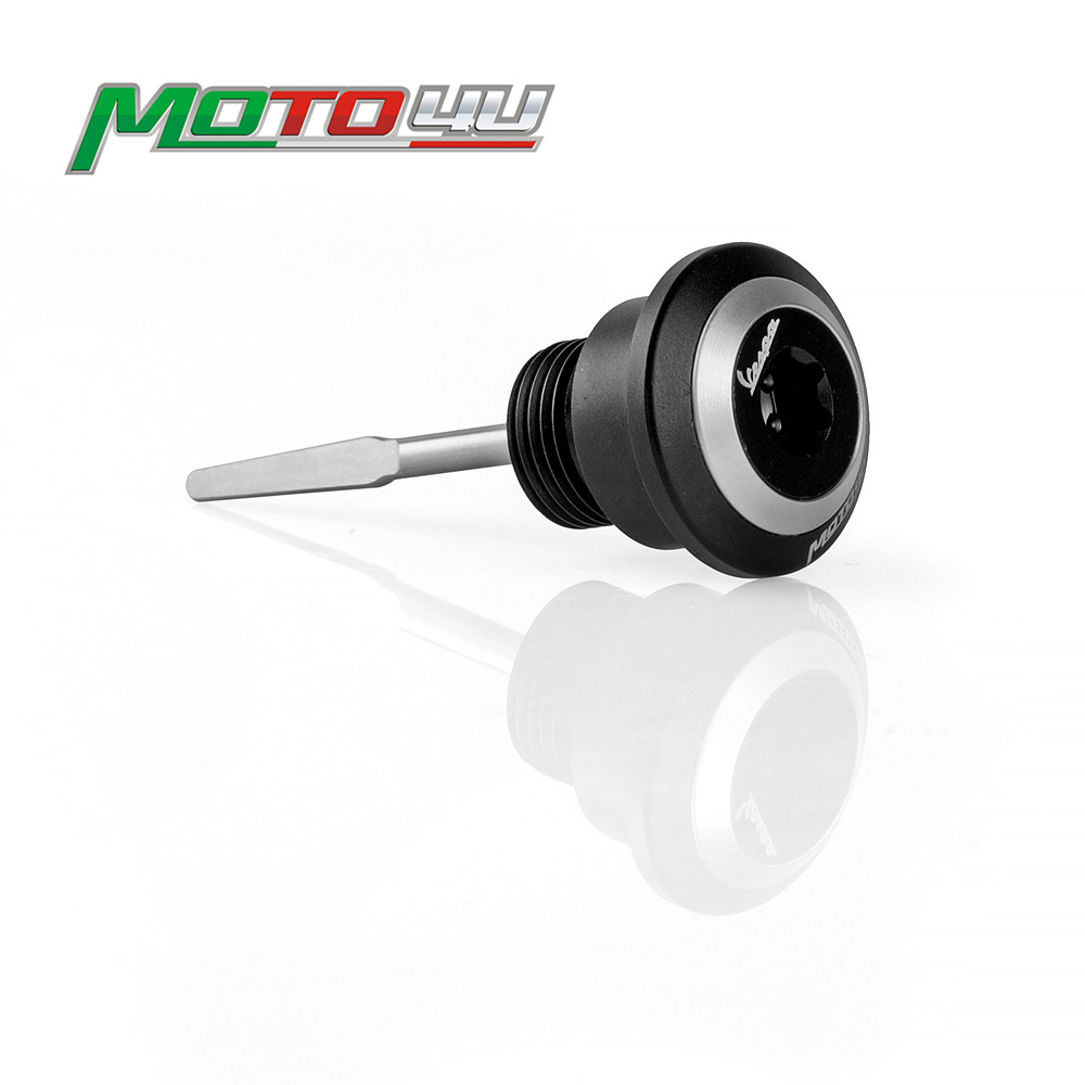 New Engine Oil Stick Dipstick Tool Level Motorcycle Accessories For Piaggio Vespa GTS300 GTS 300New Engine Oil Stick Dipstick Tool Level Motorcycle Accessories For Piaggio Vespa GTS300 GTS 300