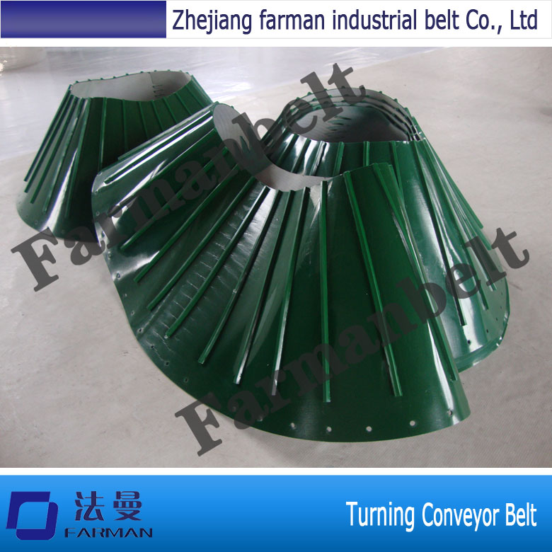 China Professional Turning Conveyor Belt china pu conveyor timing belt with cleats by customer requirement