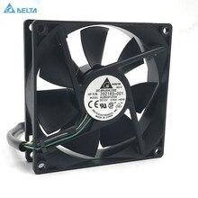 Para delta afb0912vh = aub0912vh 9cm 90mm 90*90*25mm 9225 dc 12v 0.60a 4 pinos pwm computador cpu ventiladores de refrigeração