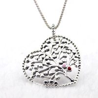 2018 New Tree of Love Pendant & Necklace 100% 925 Sterling Silver Valentine's Day, Mother's Day Jewelry Free Shipping
