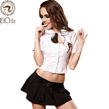 Leechee Q902 Women students uniforms bandage Cosplay solid cosplay erotic underwear role play sexy lingerie porn costumes leecheeq701 temptation women hot sexy lingerie lenceria sex perspective cosplay students uniforms erotic underwear porn costumes