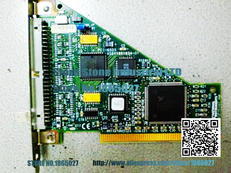 PCI-6503 data acquisition card 100% test good quality детский матрас орматек kids classic кидс классик 110x195