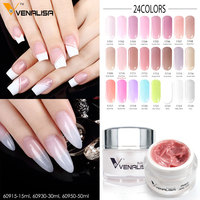 60950 CANNI New Arrival Builder Gel Hard Gel 50ml LED UV Gel Venalisa Nail Art