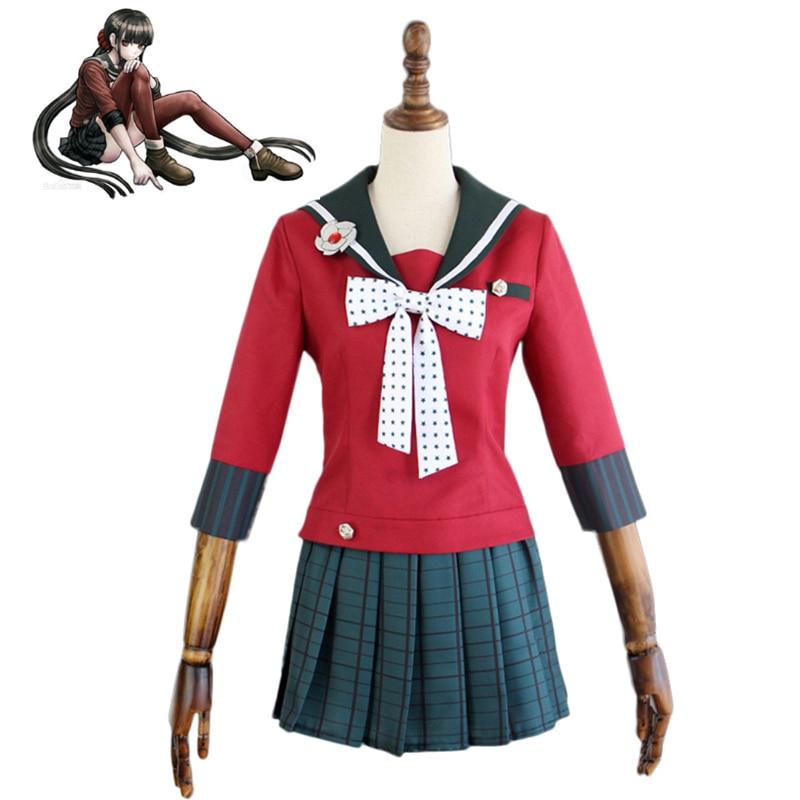 Danganronpa V3 Harukawa Maki Cosplay Halloween Christmas Costume Tailor Made