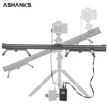 ASHANKS Aluminum Camera Slide Motorized Electric Delay Slider Track Rail Stabilizer for Photography Canon DSLR TimeLapse Video