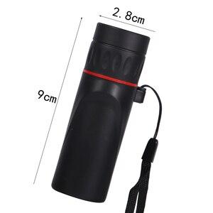 Image 3 - HD оптический 30x25 монокулярный зум телескоп с низким ночным видением Водонепроницаемый мини портативный 7X Фокус телескоп для путешествий охоты
