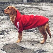 d00c8e20df8918 Klasyczny pies bluzy z kapturem płaszcz zimowe ciepłe Puppy ubranka dla  dużych psów dla małych i
