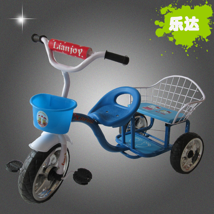 Bicycle tricycle bassinet double new 1-3-5 old high-end manufacturers wholesaleBicycle tricycle bassinet double new 1-3-5 old high-end manufacturers wholesale
