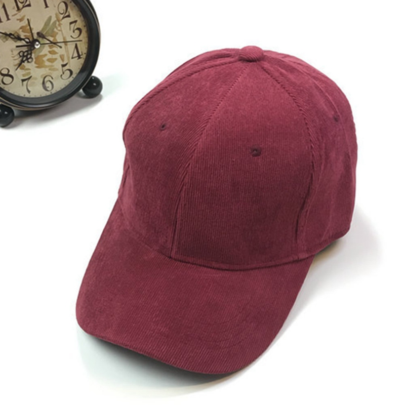 2018 Women and Men Pink Soft Velvet Baseball Caps Adjustable Casual Lustrously Snapback Golf Outdoor Travel Trucker Hat