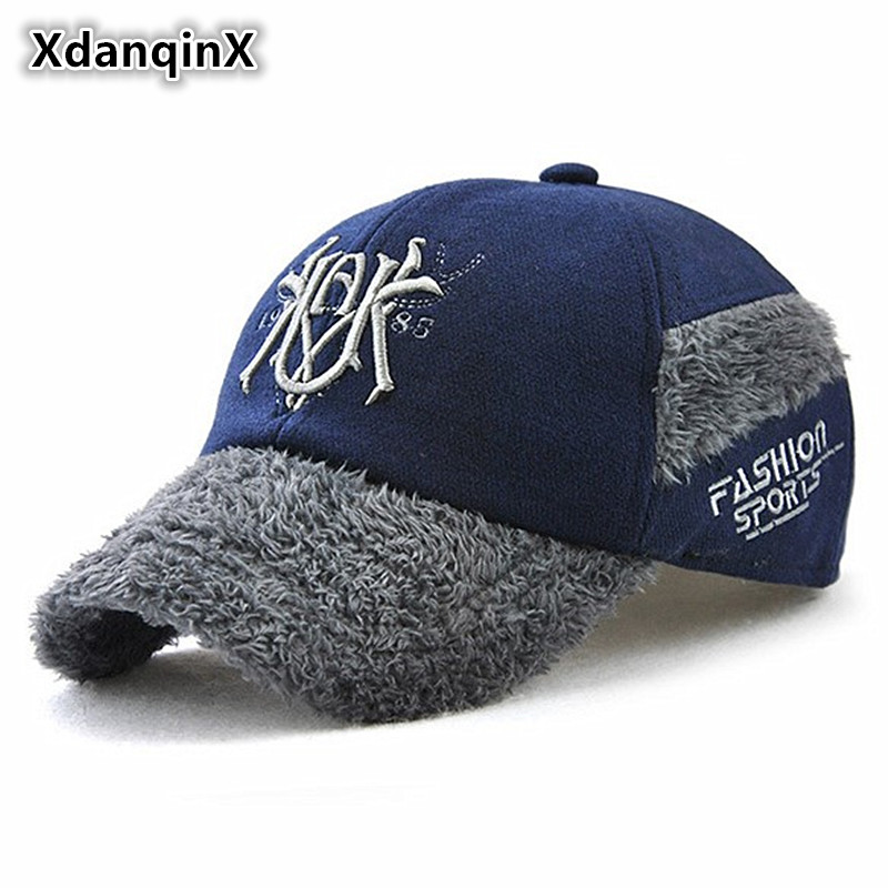 de99d15b586 Aliexpress.com   Buy Children s Hats Winter Thicker Warm Baseball Cap With  Ears Protection Boys Girls Fashion Duck Tongue Caps New Style Children Hat  from ...