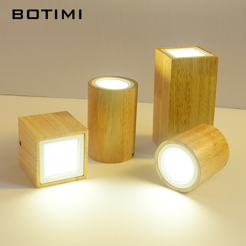 Ceiling Lights Lights & Lighting Botimi Modern Led Ceiling Lights For Corridor Small Round Wooden Ceiling Lamp Modern Square Luminaire Cuboid Wood Lightings