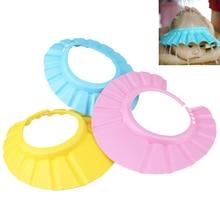 Регулируемая детская шапка для младенцев детский шампунь для ванны душ для купания шапочка для мытья шапки для волос для детей уход за ребенком