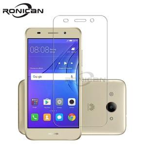 Image 1 - Закаленное стекло для телефонов Huawei, защита экрана для Y3 2017 CRO U00 Y3 2018 CRO L02 CRO L22 CRO L03 CRO L23, защитная пленка