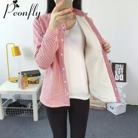 PEONFLY Women casual Cotton Blusas Blouses feminina Long Sleeve Shirts Femininas chemise femme tops female feminine blouse