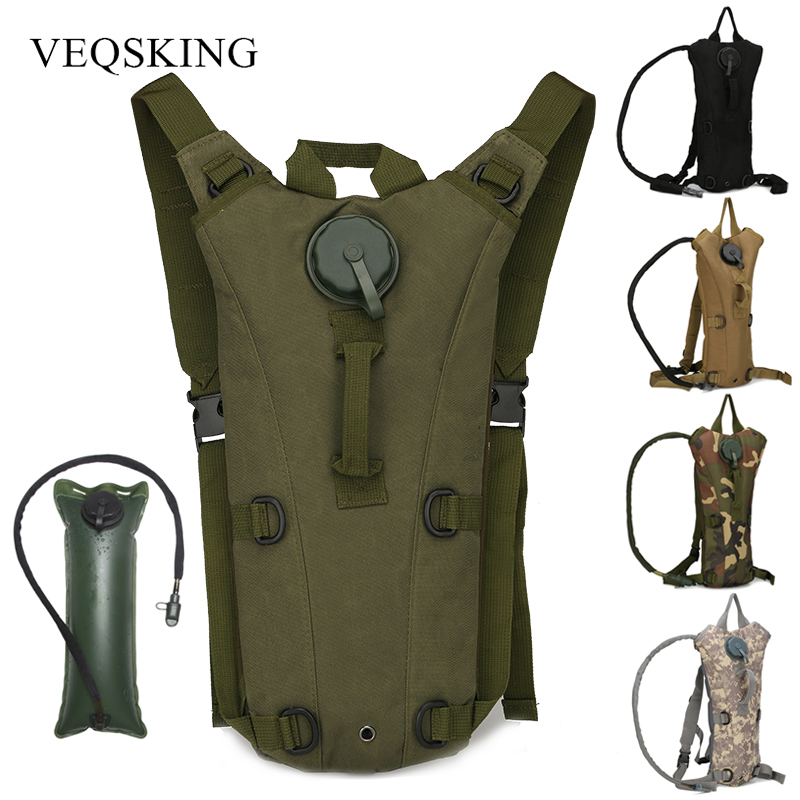 3L Water Bag Molle Military Tactical Hydration Backpack Water Bag Camping Water Bags Bicycle