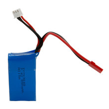 Wltoys V262 RC Helicopter Spare Parts 7.4V 850mAh Li-pol Battery Professional Spare Batteries 14005912  2pcs/lot Free shipping