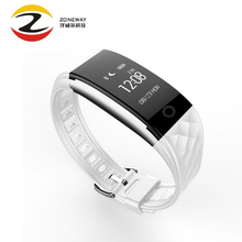 5 шт. горячая продажа s2 умный браслет браслет браслет heart rate ip67 водонепроницаемый bluetooth smartband для iphone xiaomi huawei samsung