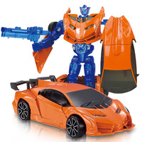 Anime Series Transformation Robot Cars Model Alloy Action Figure Toys Transformation Robot Car Model Classic Toy