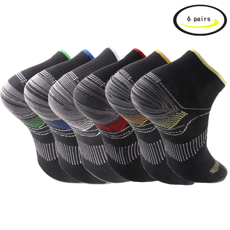 Athletic Medical For Men & Women (1 Pairs) Plantar Fasciitis Arch Support Low Cut Running,  Travel, Nurses Gym Compression Socks