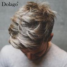 Мужчины Toupees французские кружева спереди с большой поли боковой и задней волос заменить мужчин t системы прочные шиньоны кружева и ПУ блонд долаго