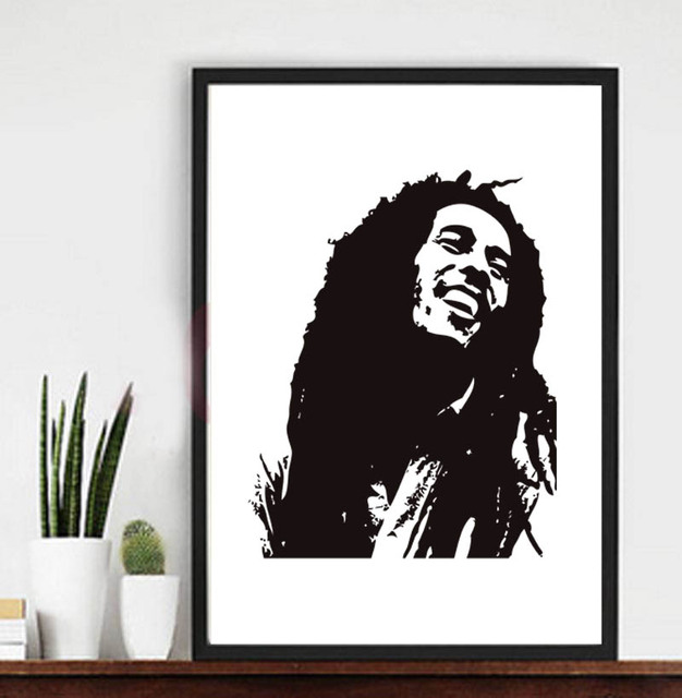 Bob Marley canvas print poster wall picture,no frame-in Painting ...